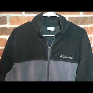 Columbia Mens Large Fleece Full Zip Jacket